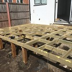 Decking installation whetstone north london 04