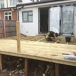 Decking installation whetstone north london 05