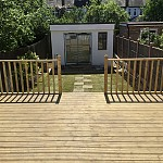 Decking installation whetstone north london 06