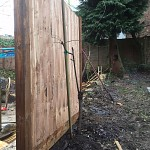 Fencing and paving archway n19 north london 01