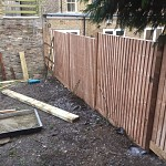 Fencing and paving archway n19 north london 02
