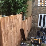 Fencing and paving archway n19 north london 07