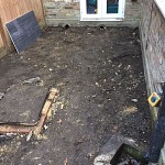Fencing and paving archway n19 north london 08