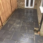 Fencing and paving archway n19 north london 09