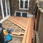 Hardwood decking acton w3 london 1